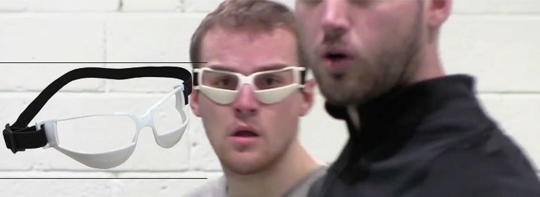 how chin up goggles work
