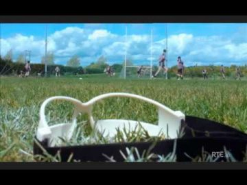 Chin Up Occlusion Goggles segment from 'GAA Nua'